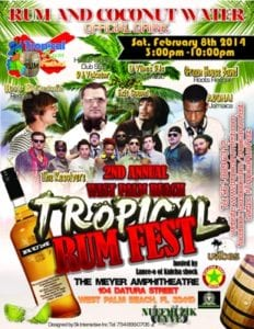 Tropical-Rum-Fest-Flyer