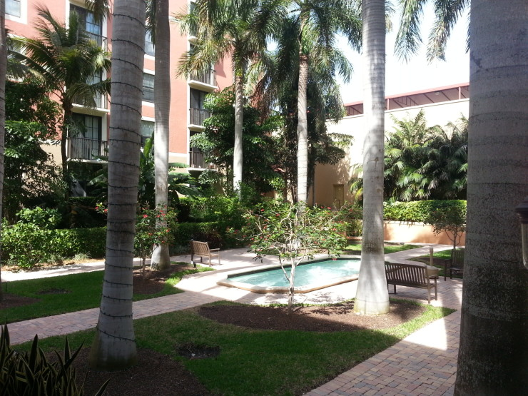 CityPlace Courtyard
