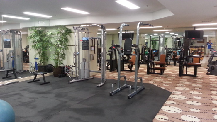 One City Plaza Fitness Room