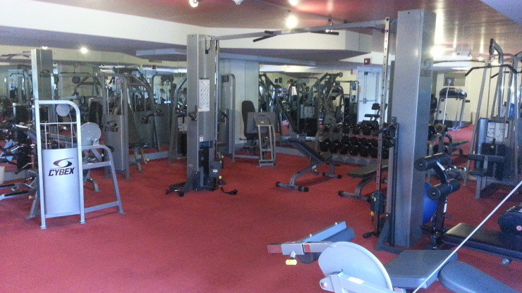 Slade Fitness Room