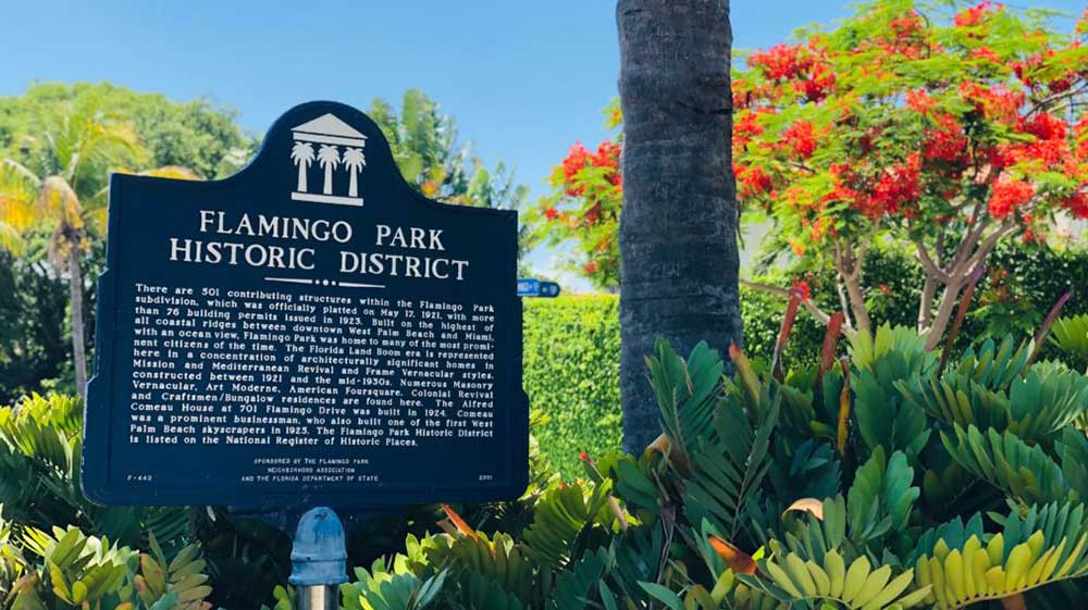 flamingo-park-sign